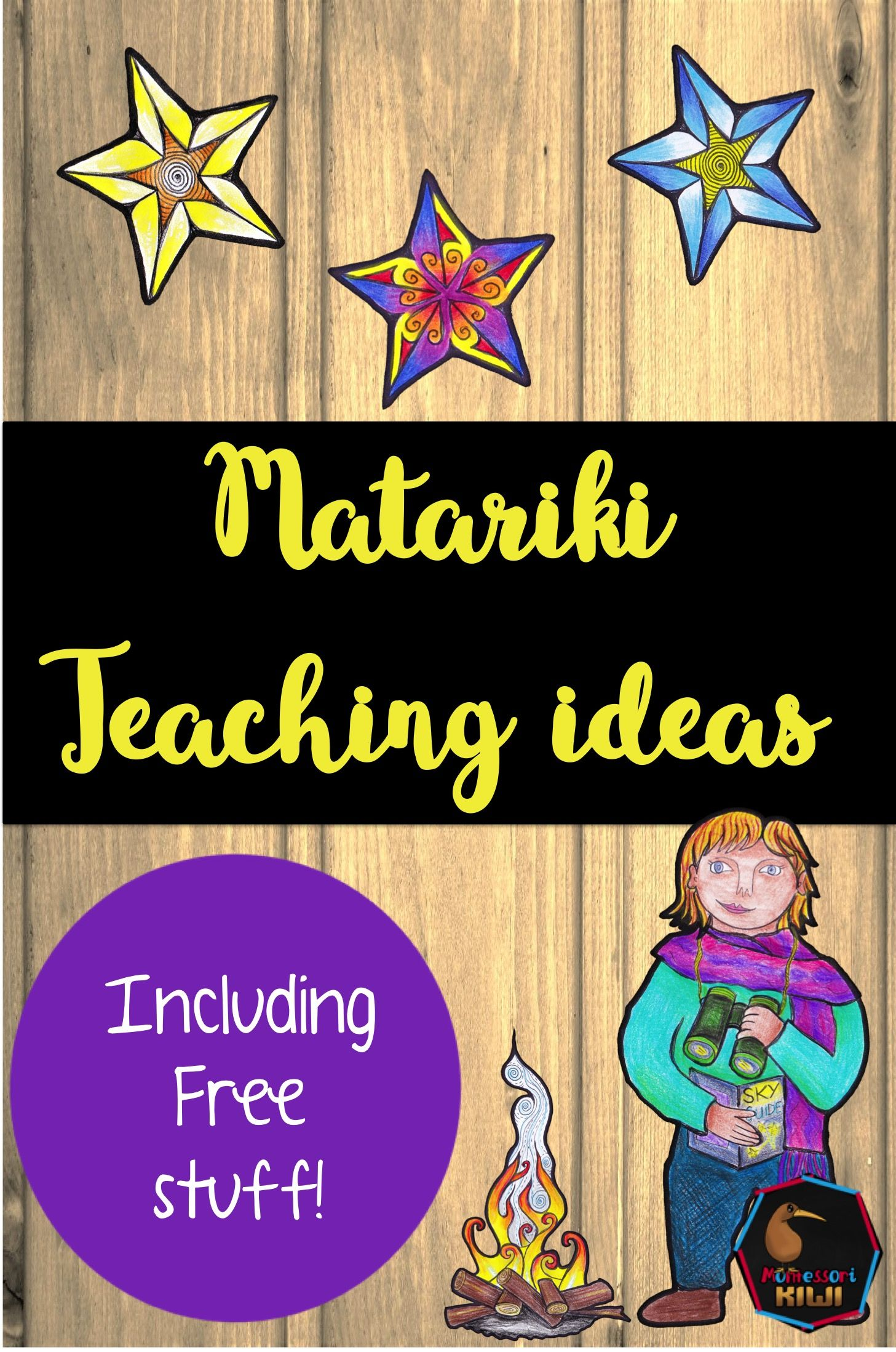 Page Containing Teaching Ideas For The Matariki Festival