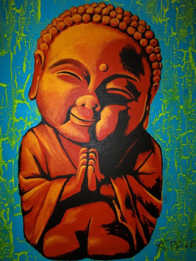 Little Buddha by Ashley Price | Buddha Art | Pinterest | Budas