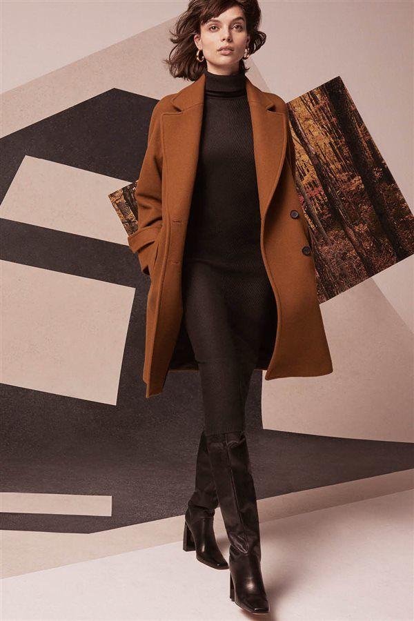 Abrigos vestir mujer zara