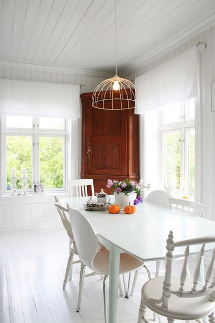 Play Tricks With Color In Your All White Room