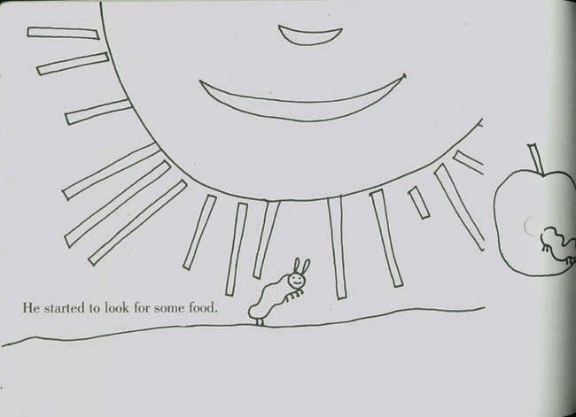 Activity 2: Whole page Book: The very hungry caterpillar - page 2/12 ...