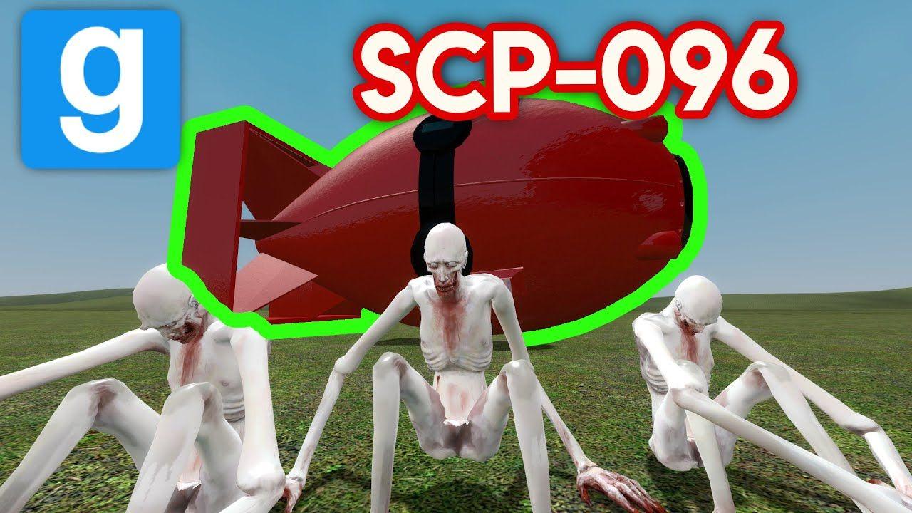 SCP-096 Experiment VS NUKE! (gmod scp) | videos/animation