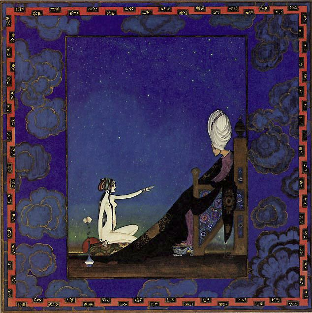 Image result for scheherazade illustrations