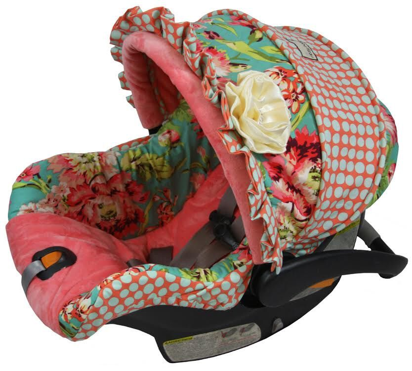 Amy Butler Love Bliss Custom Baby Car Seat Cover Chicco
