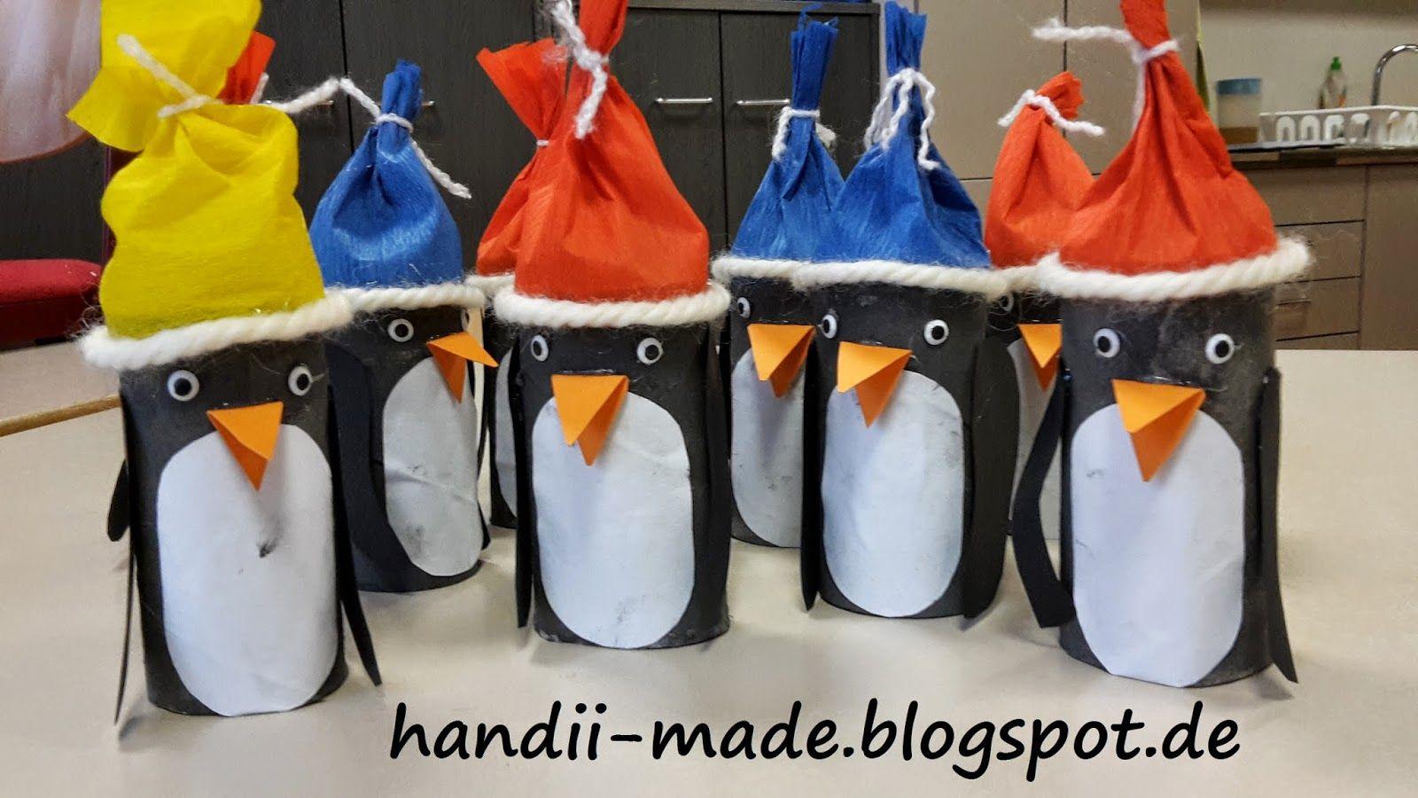 Pinguine Basteln Pinguin Basteln Pinguine Aus Papprollen Pinguine