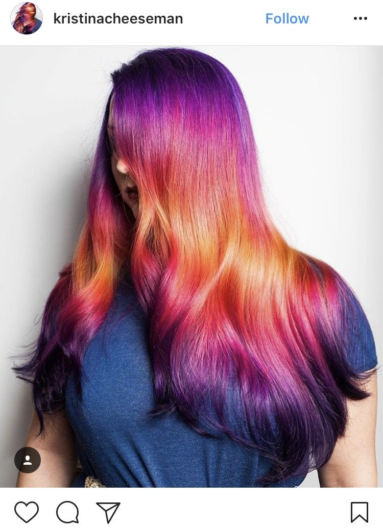 Trend Watch Shine Line Hair Holographic Hair Hair Trends Hair Styles
