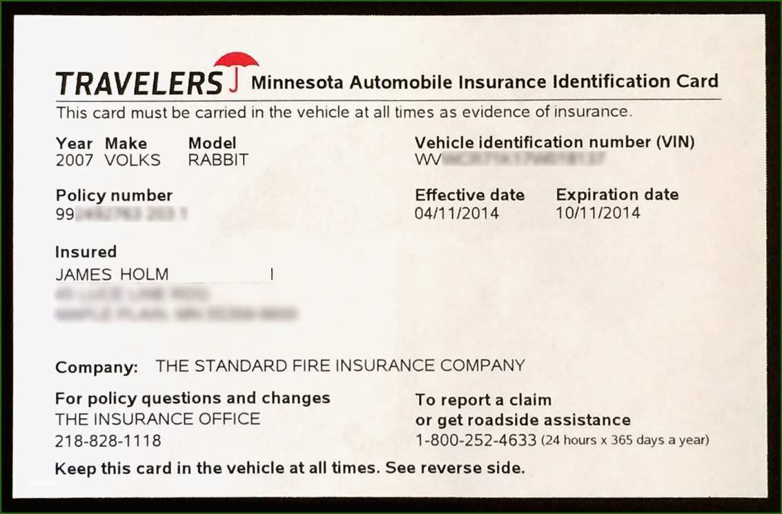 Proof Of Auto Insurance Template Free: 11 Feeling that ...