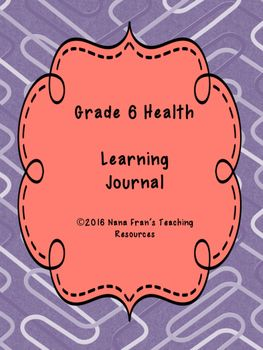 This resource offers a complete assessment for Grade 6 Health. The outcome indicators are those for the Saskatchewan curriculum, but they will also meet the expectations for most provincial and state curriculum.Since the topics for Grade 6 Health are of a sensitive nature, it is possible that all students might not take an active role in the class learning environment.
