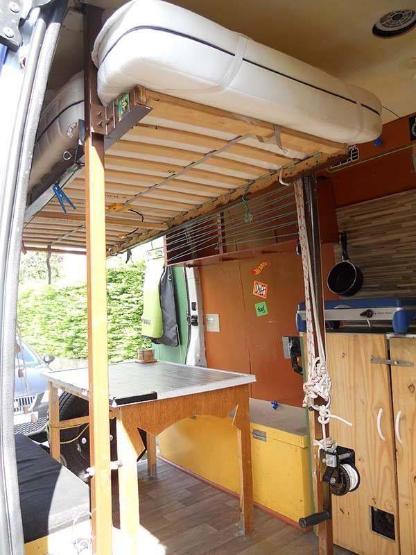 super idee camper interieur diy van camper van. Black Bedroom Furniture Sets. Home Design Ideas