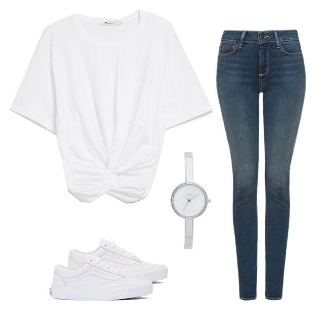 """""""Untitled #25"""" by fawn98 on Polyvore featuring NYDJ, Vans and DKNY"""