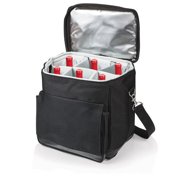 Cellar Cooler Tote With Trolley Wine Carrier Wine Tote Cooler Tote