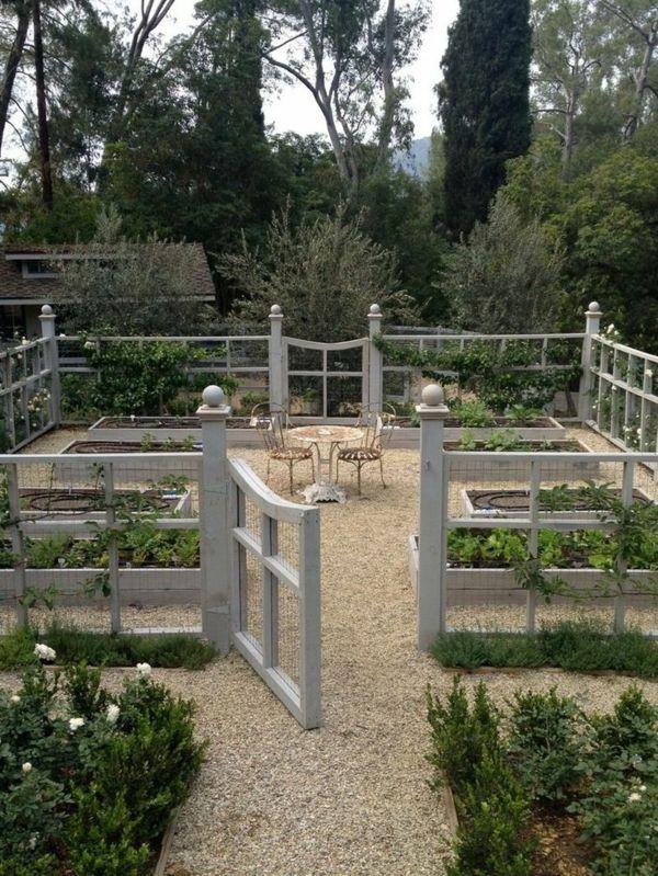 Cr er le plus beau jardin avec le gravier pour all e - Comment faire un beau jardin potager ...