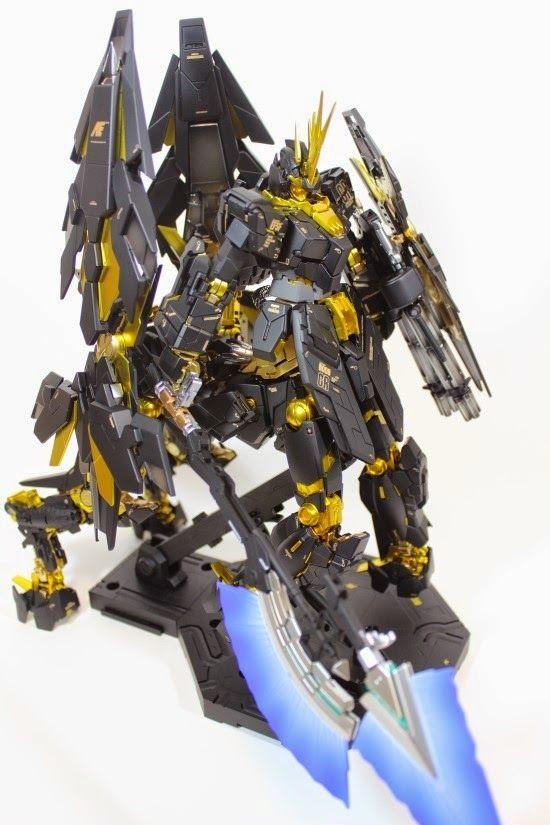 Mg 1 100 Unicorn Gundam 02 Banshee Beast Mode Custom Build