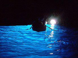 Capri  Italia-Grotta azzurra
