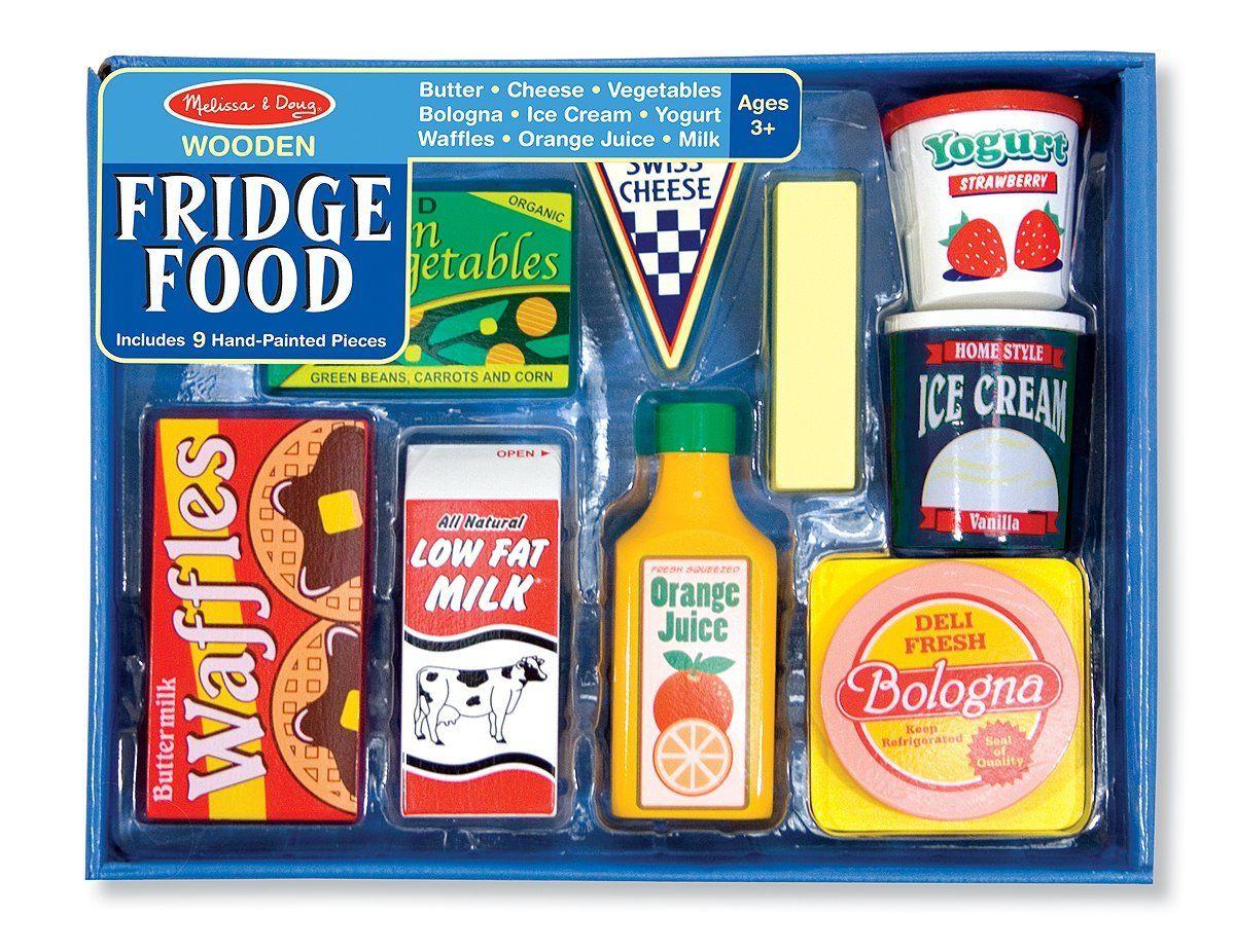Melissa doug fridge food set melissa doug