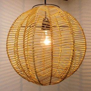 ペンダント ランプ ライト お洒落 照明 八角形 吊り下げ ダウンライト