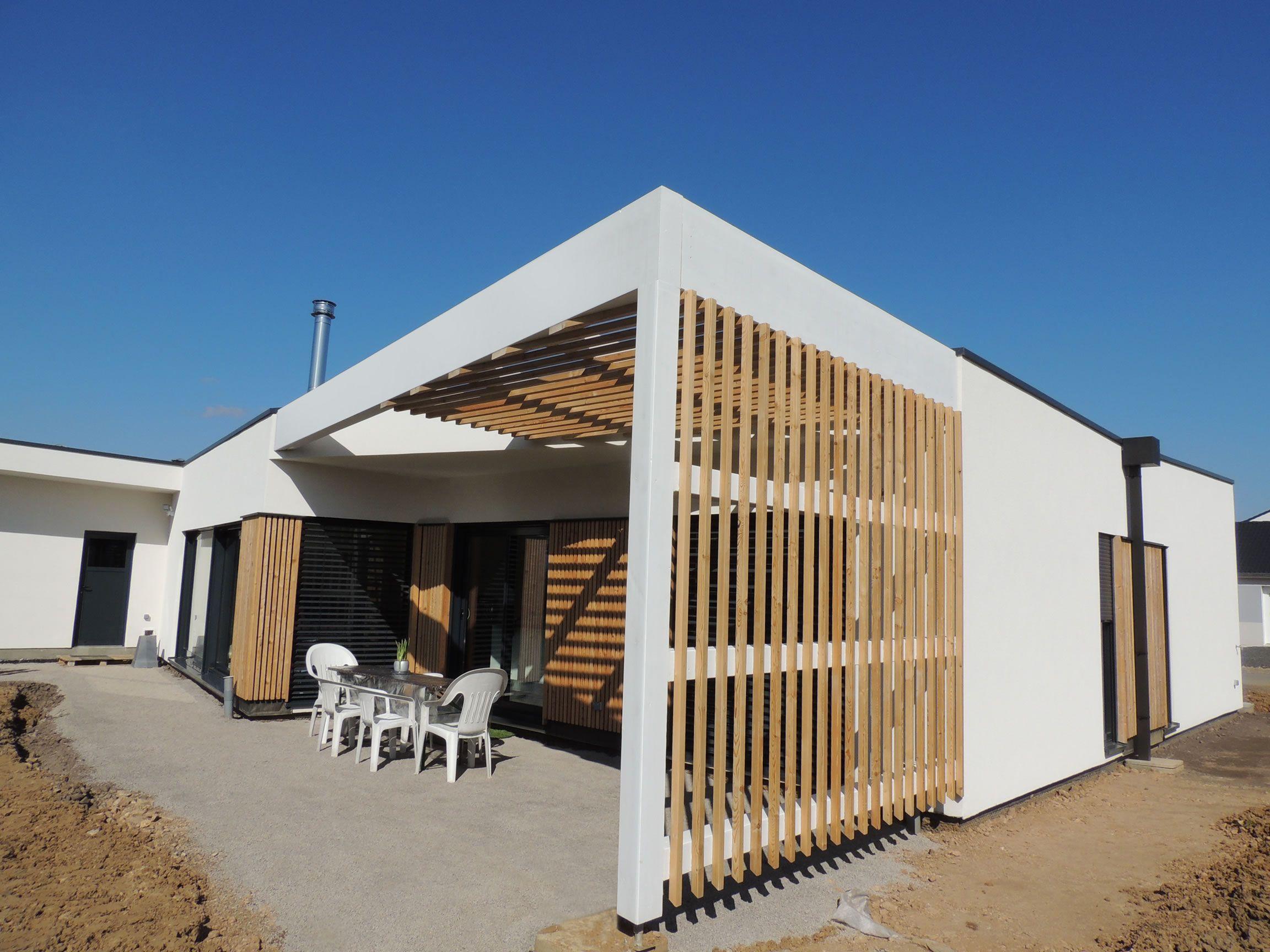 Thionville Rdc 148m2 Maison Ossature Bois Architecture Outdoor Decor Outdoor