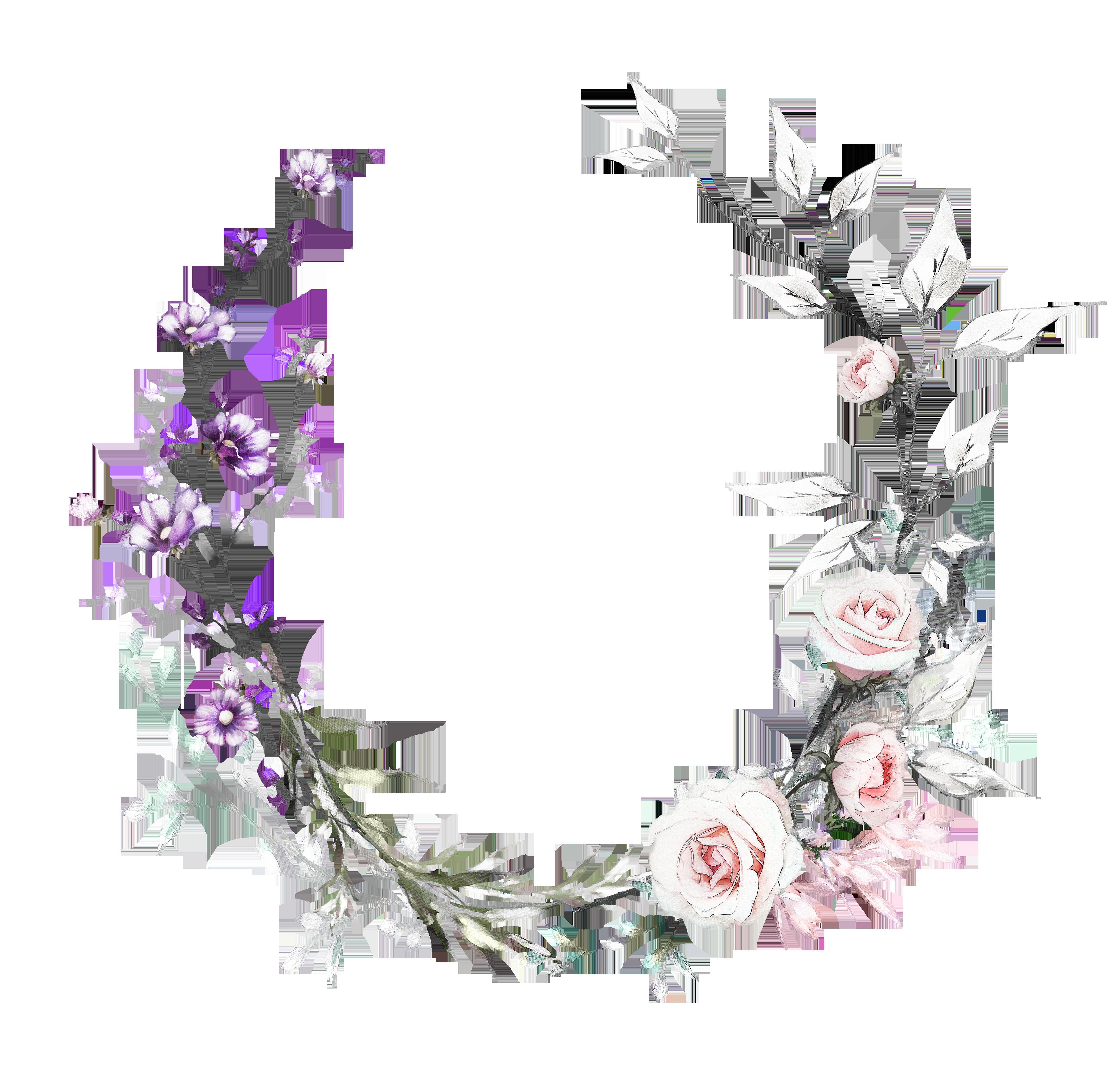 H927 30 Flower Frame Flower Backgrounds Flower Drawing