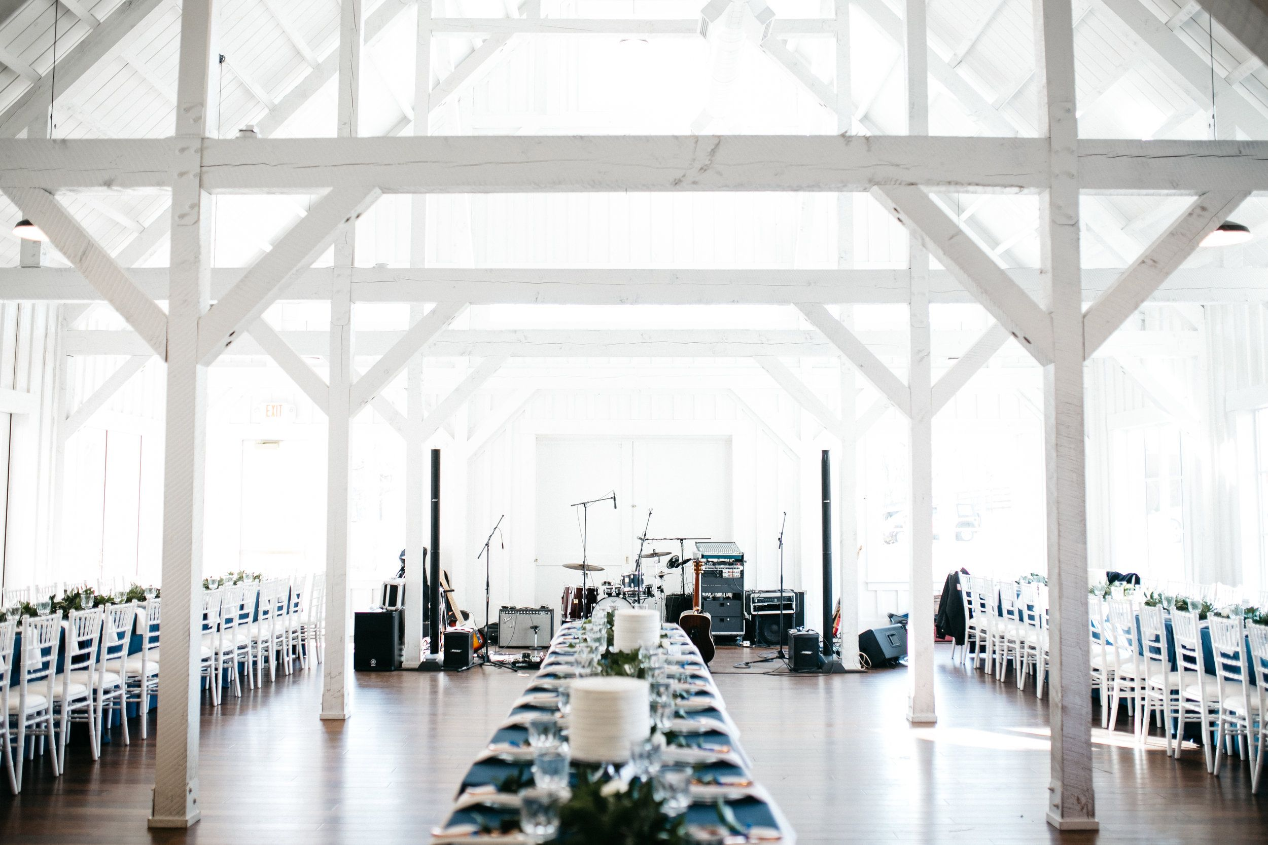 All White Barn Dream Wedding Venue Spain Ranch Jenks Ok Kailey