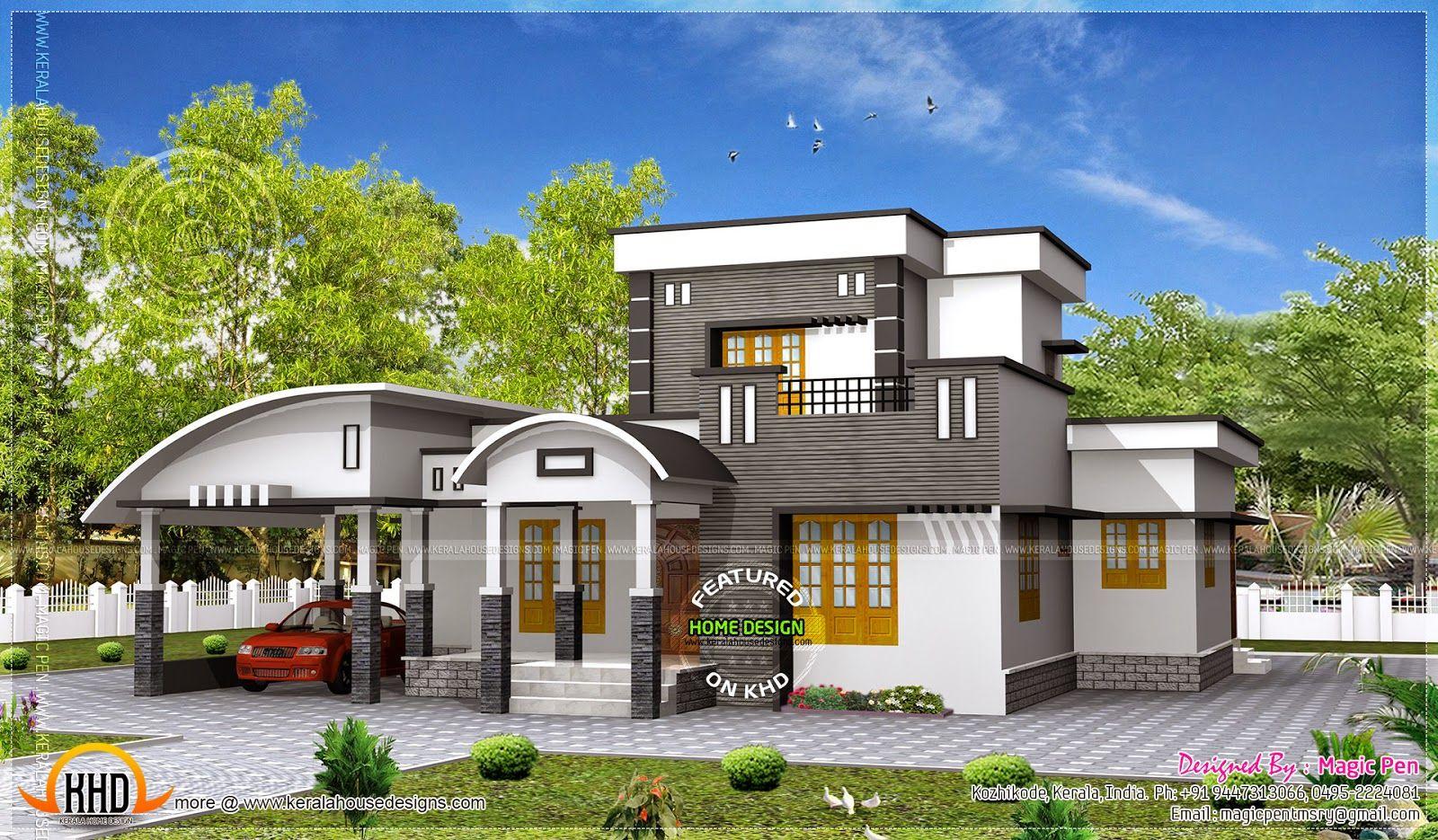 Unique, Stylish, Trendy Indian House Elevation | Indian House, House  Elevation And House