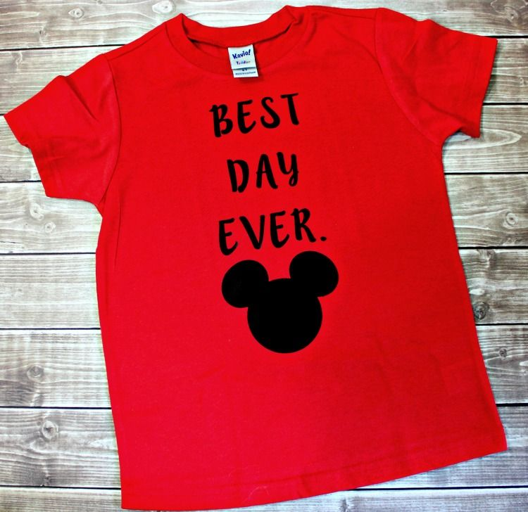 Best Day Ever Mickey Shirt