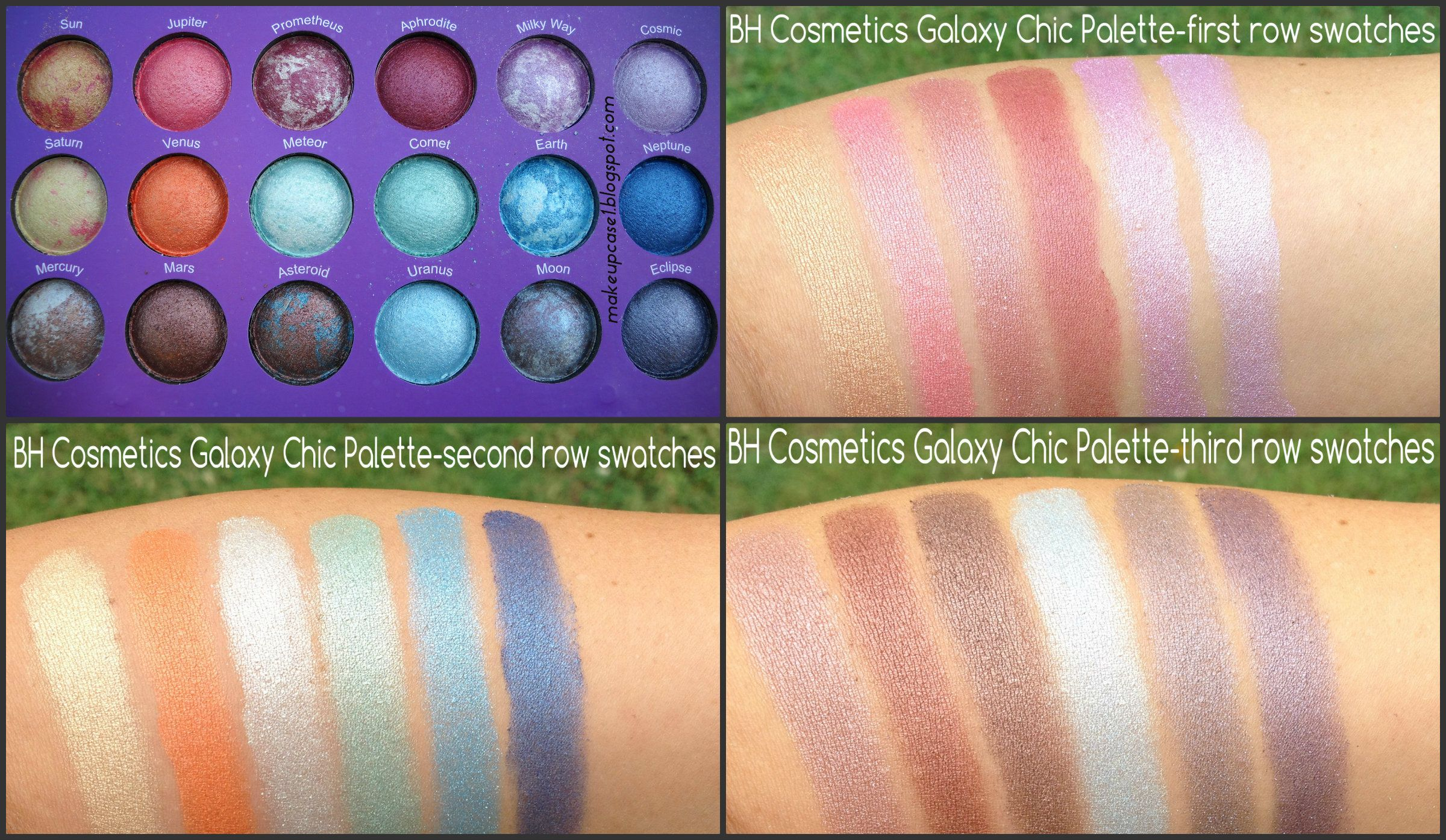 Galaxy Chic Baked Eyeshadow Palette by BH Cosmetics #13