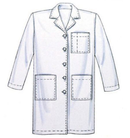 M6107 If I Combine This With The Other Pattern Can Get A Howie Lab Coat Out Of It Will Probably Require Some Muslin And Extra Large Paper