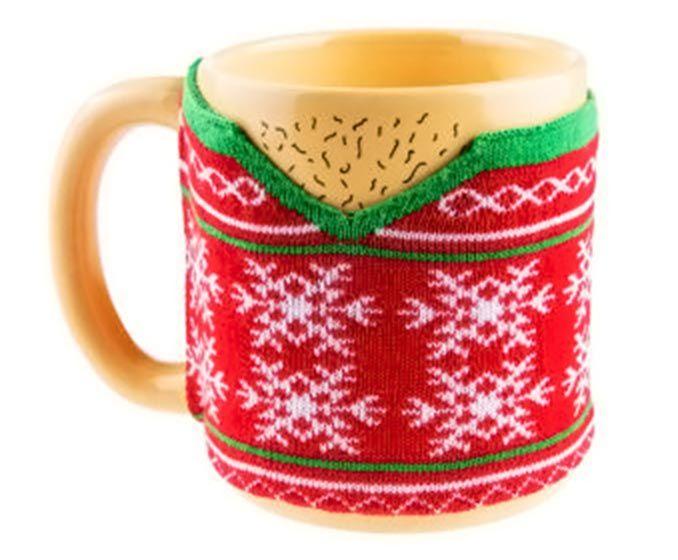 Hairy Chest Ugly Sweater Mug Geeky Drinkware Pinterest Mugs