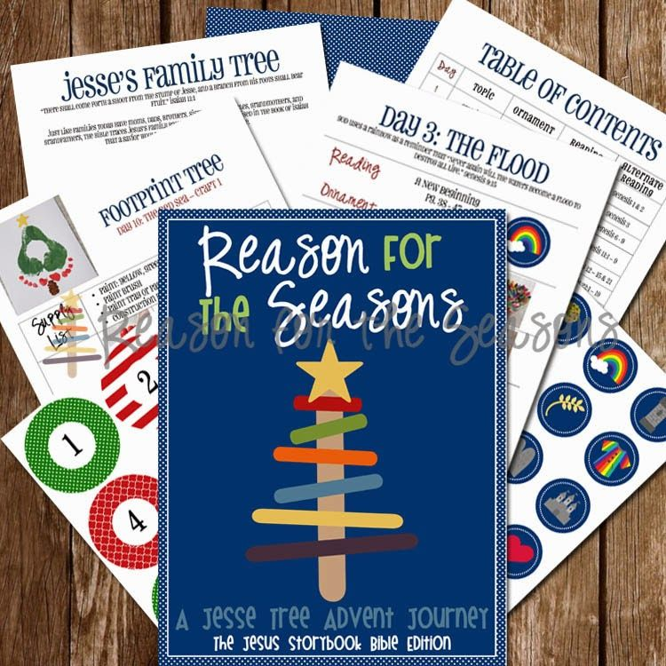 Reason For The Seasons Advent Activities Based On The Big Picture