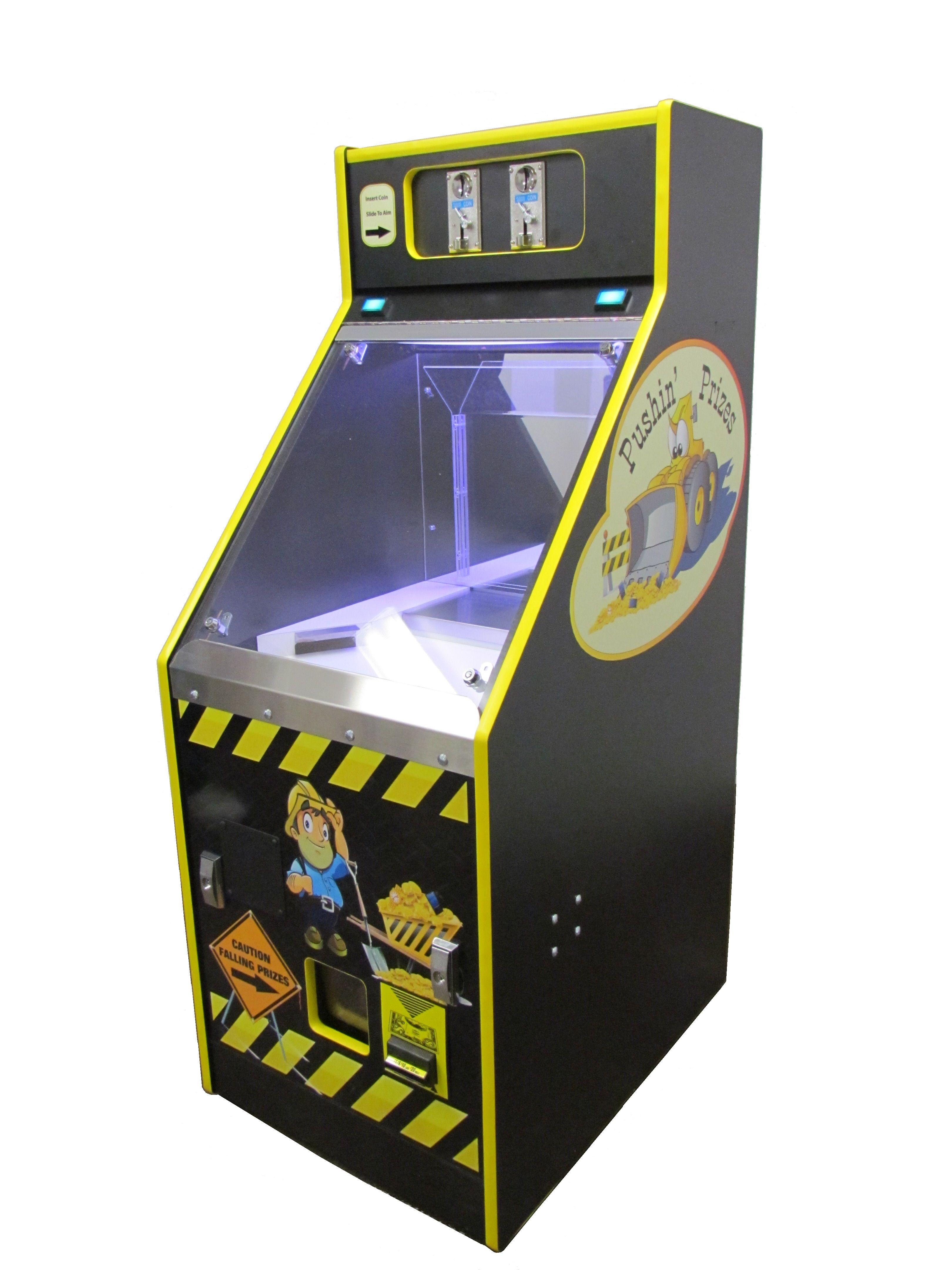 Pushin' Prizes coin pusher | quarter pusher amusement game