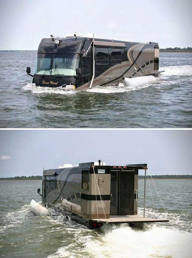Terra Wind Amphibious Motorcoach   nifty transportation