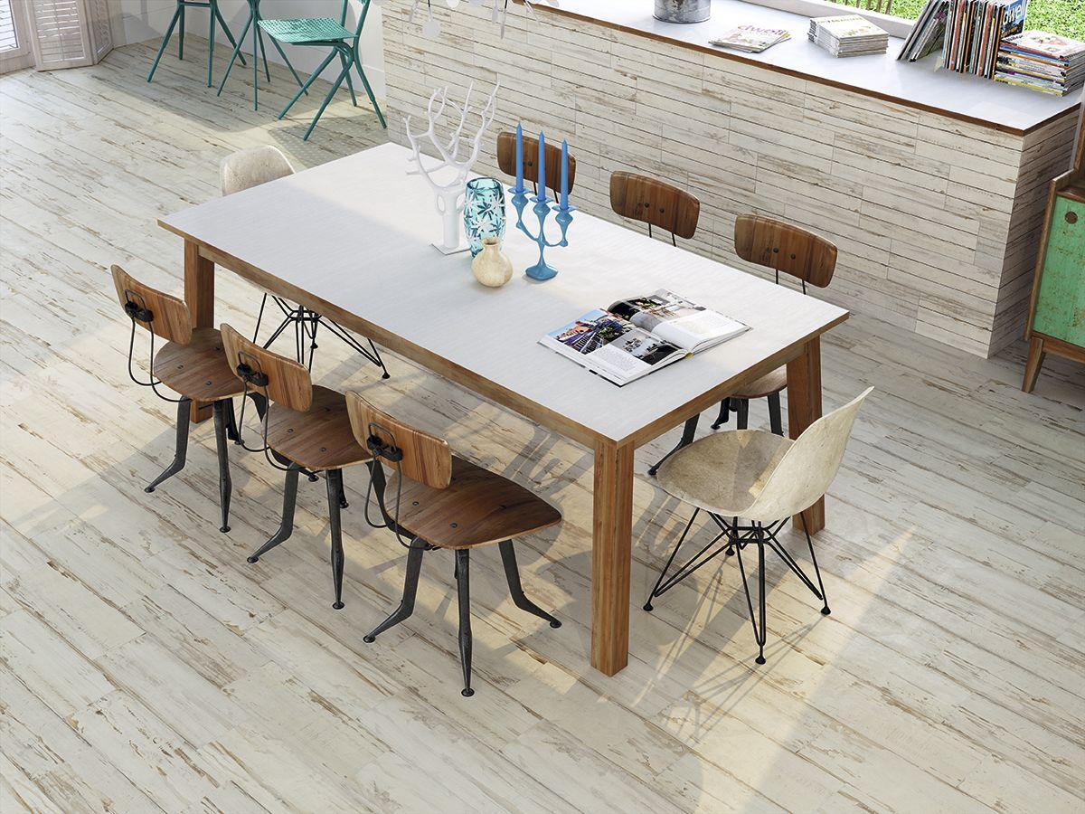 carrelage imitation parquet lasur blanc us cm. Black Bedroom Furniture Sets. Home Design Ideas
