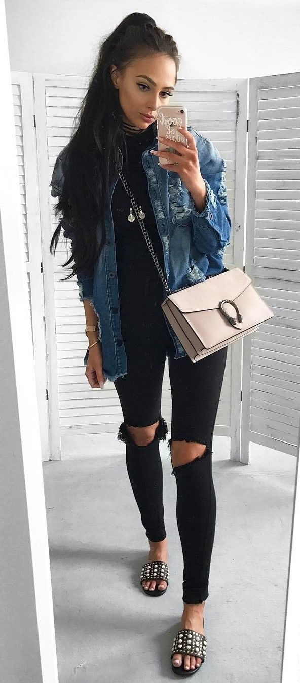 84 Casual Style Addiction: 55 Outfit Ideas You Can Wear Every Single Day #outfi
