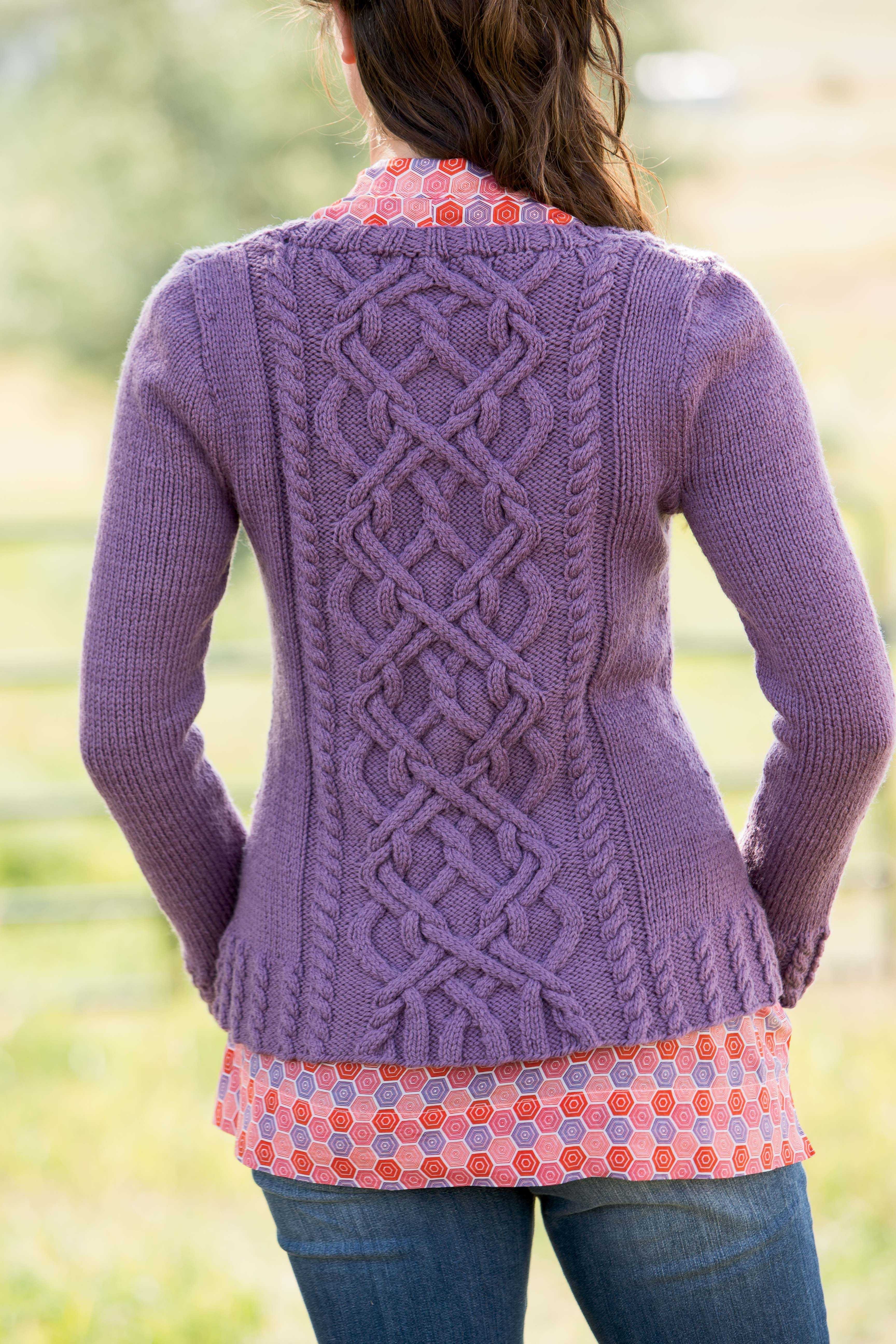 Knitted Yarn Patterns and Knitting Tutorials   Mantel ...