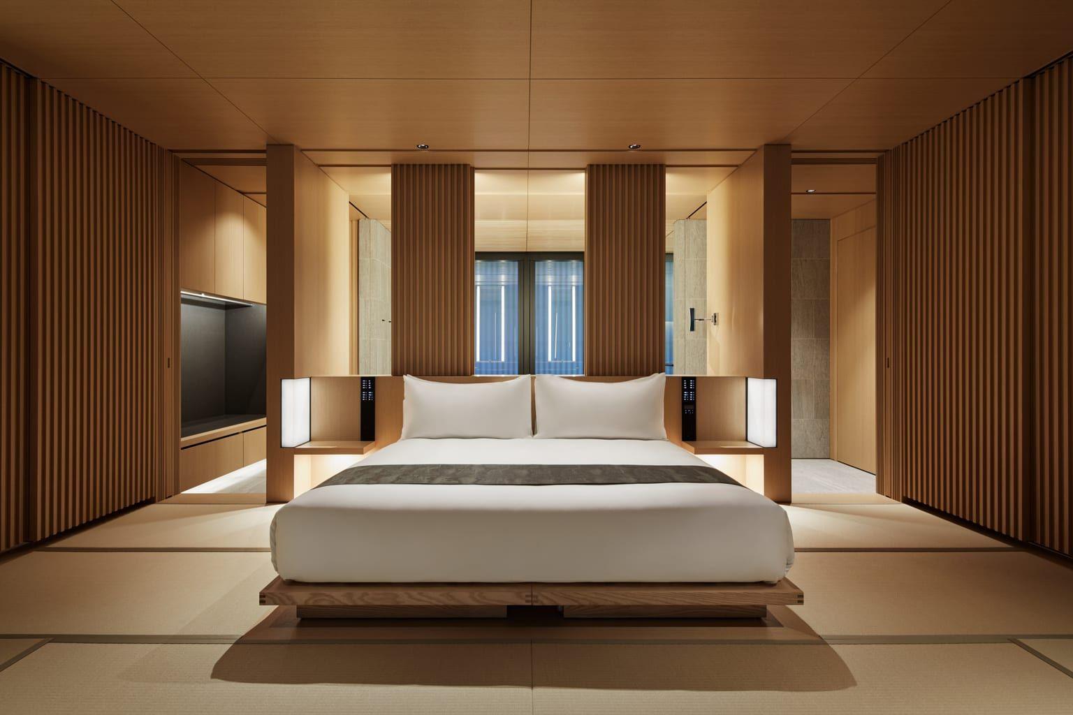 Aman Kyoto Japan Pavilion Interior Luxury Hotel Room Hotel Room Design Luxury Accommodation