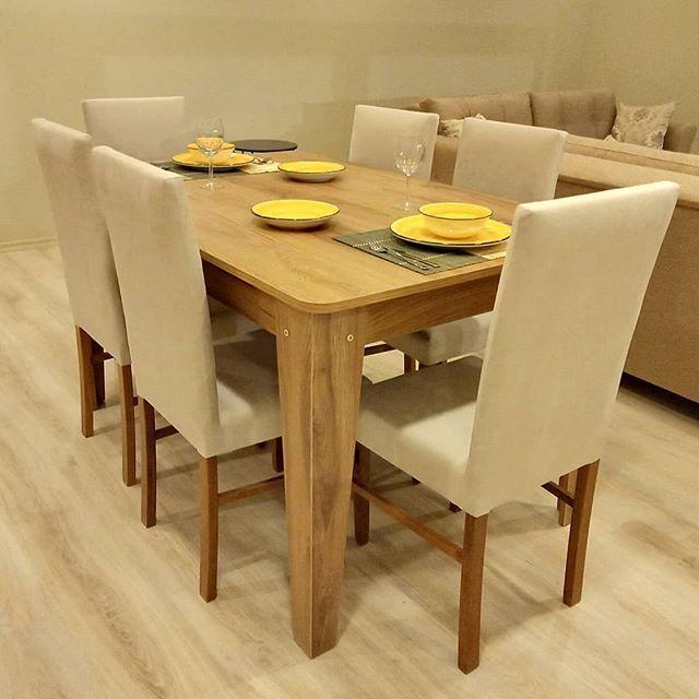 dream yemek takimi acilabilen yemek masasi ve 6 adet sandalye sadece 2 045 tl bahcesehir magaza iletisim 02126725687 sil dining chairs home decor furniture