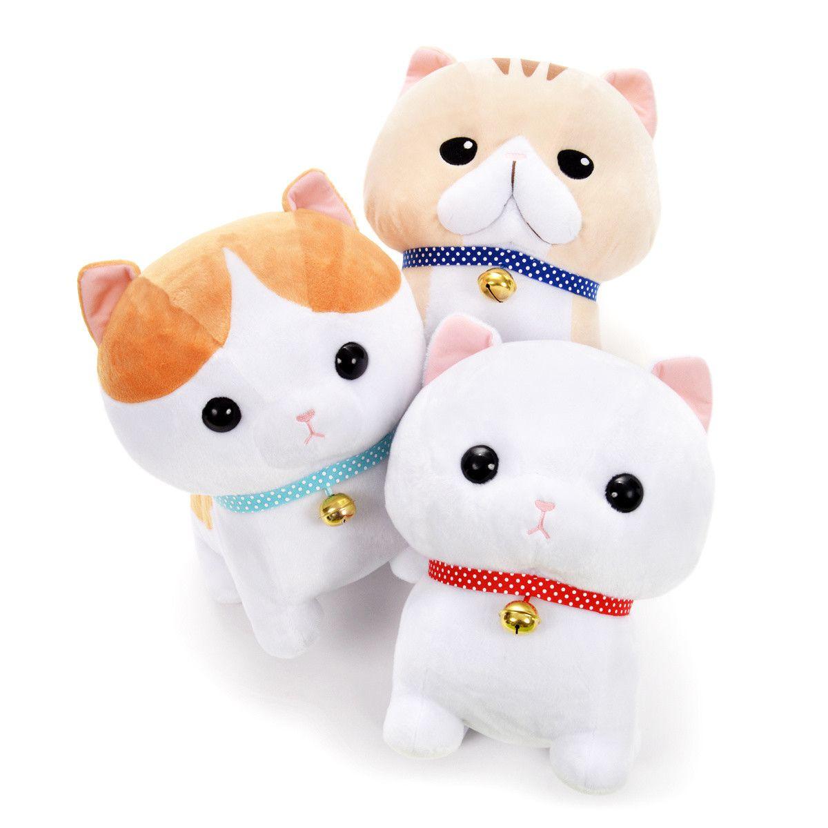 Hokkori Munchkin Cat Plush Collection Big Cat Plush Munchkin Cat Cute Stuffed Animals