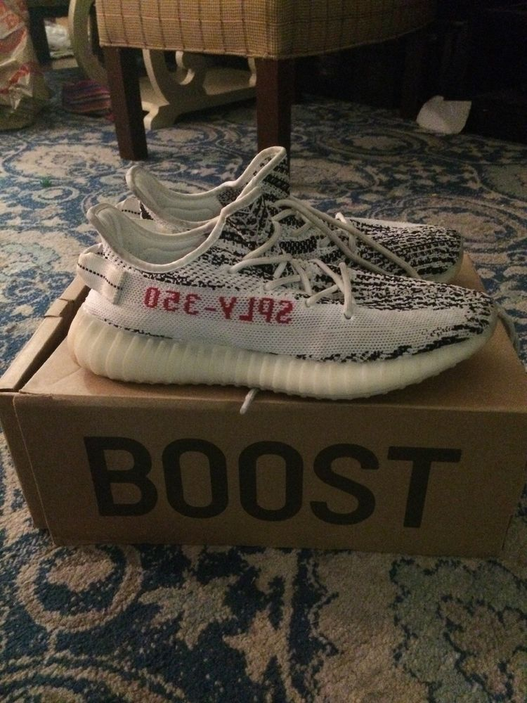 340e20ff156e3 Authentic yeezy boost 350 v2 zebra US size 8  fashion  clothing  shoes