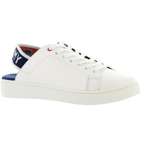 e817a3b4e07 Tommy Hilfiger Sabba Women's White Oxford 8 M ($59) ❤ liked on ...