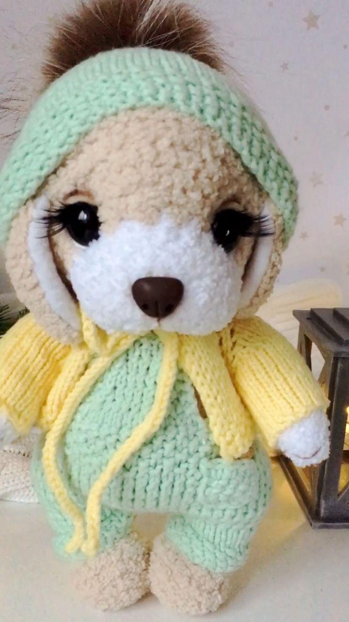 Dog crochet pattern. Amigurumi animal pattern. Cute puppy toy. | Etsy
