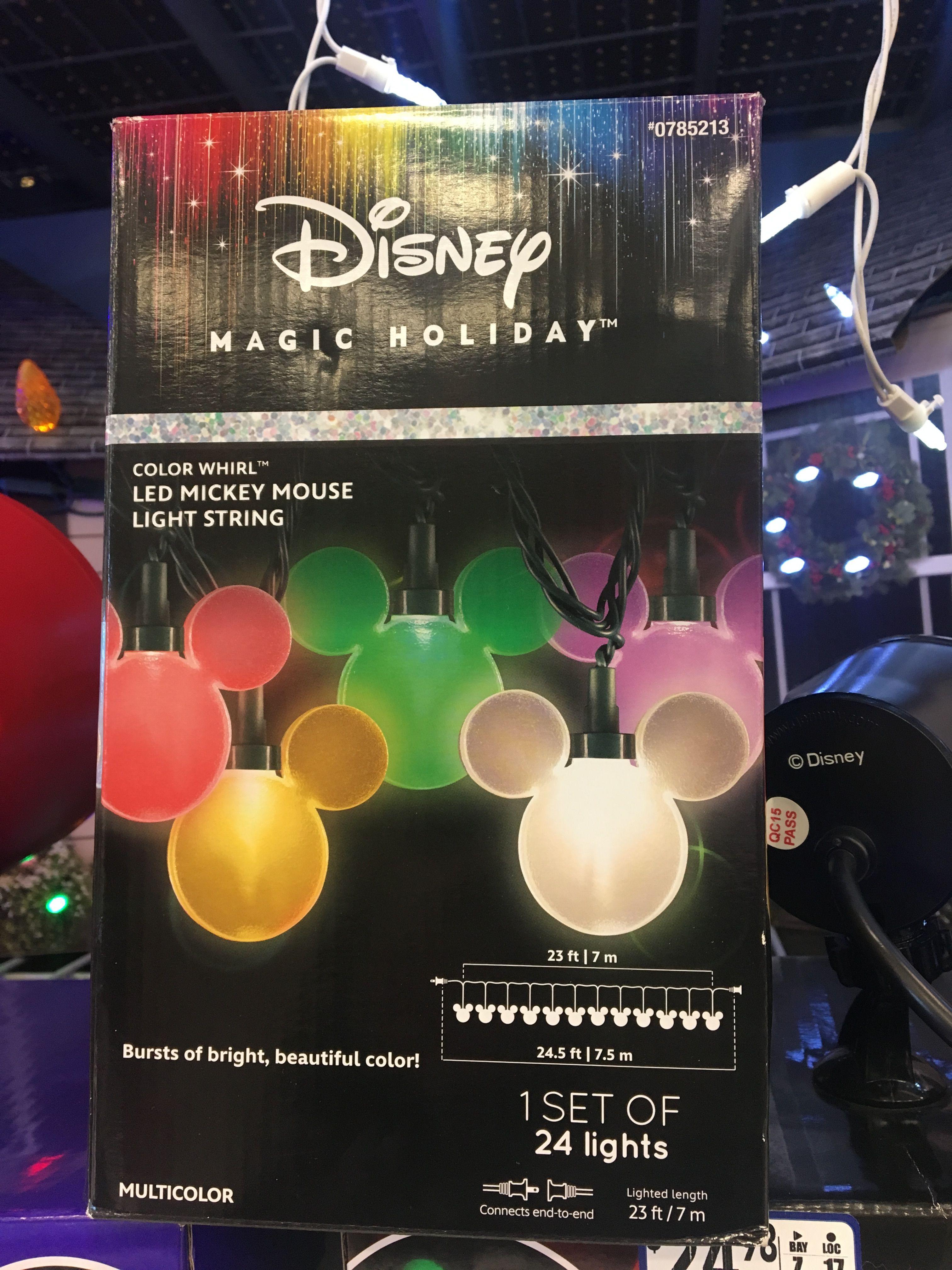 Disney Christmas Lights From Lowe S Christmas Tree Themes
