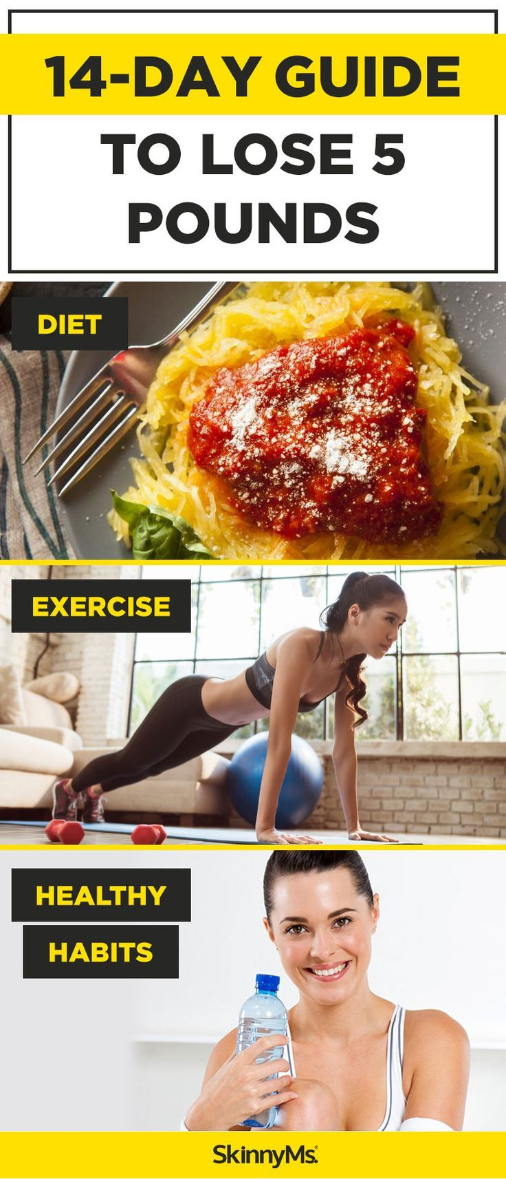 14-Day Guide to Lose 5 Pounds