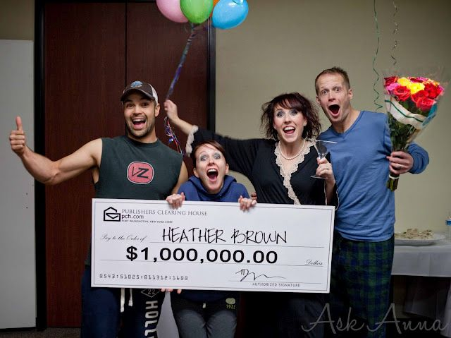 Publishers Clearing House Party - SO FUNNY!