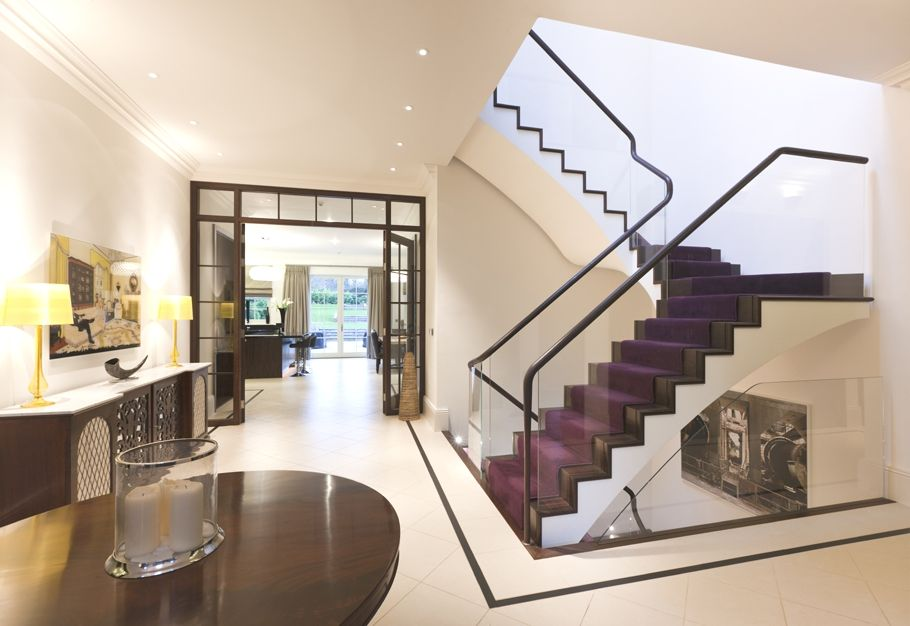 Contemporary Staircase With Stylish Design Recipes To