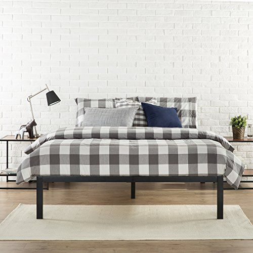 Zinus Modern Studio 14 Inch Platform 1500 Metal Bed Frame   Mattress  Foundation   no Boxspring. Zinus Modern Studio 14 Inch Platform 1500 Metal Bed Frame