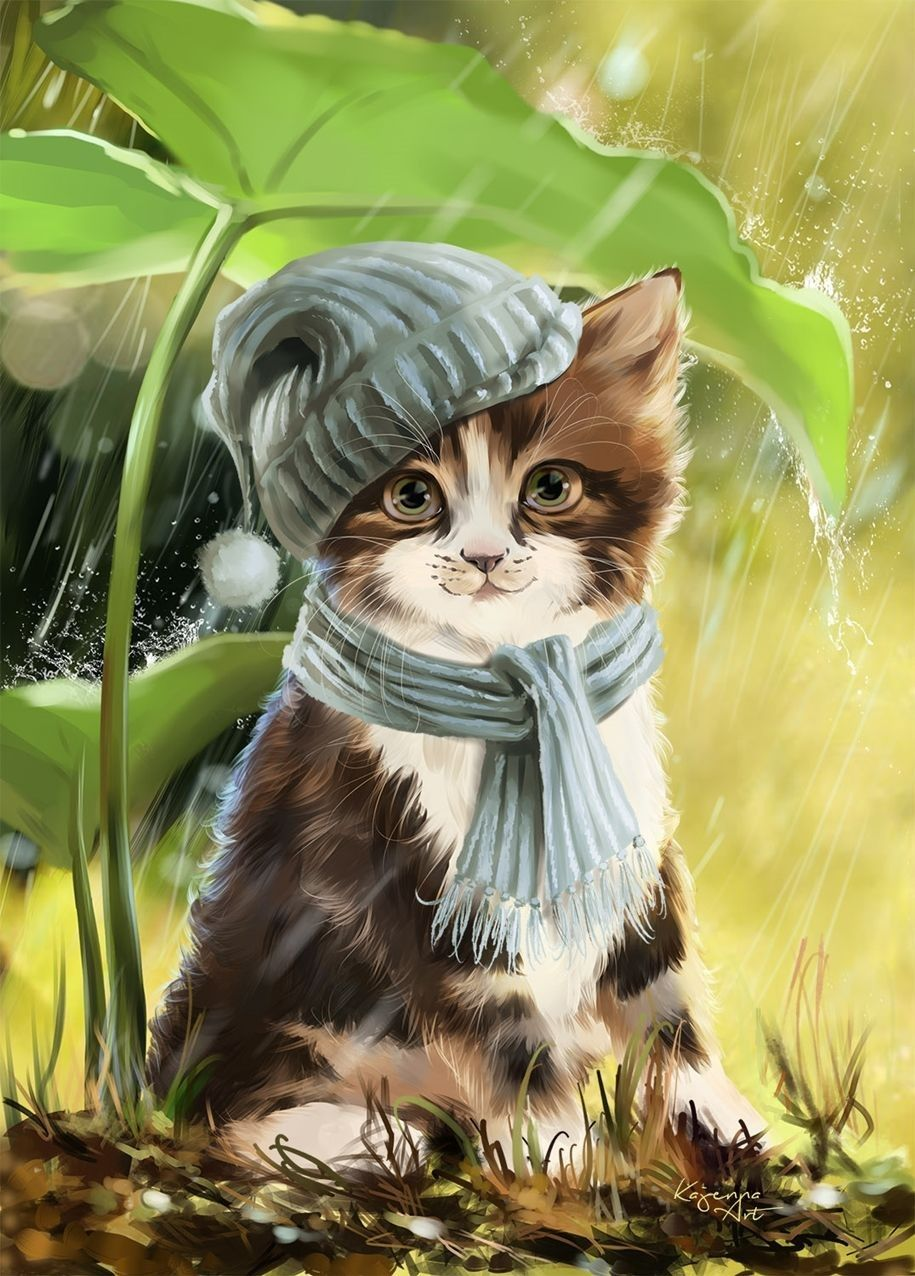 Cayenne By Lorri Kajenna Winter Cat Cute Cats Animals