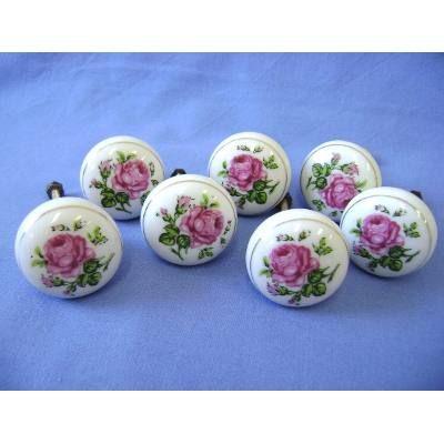 Puxadores Moveis Antigos Porcelana - Grande - R$ 26,00 no MercadoLivre