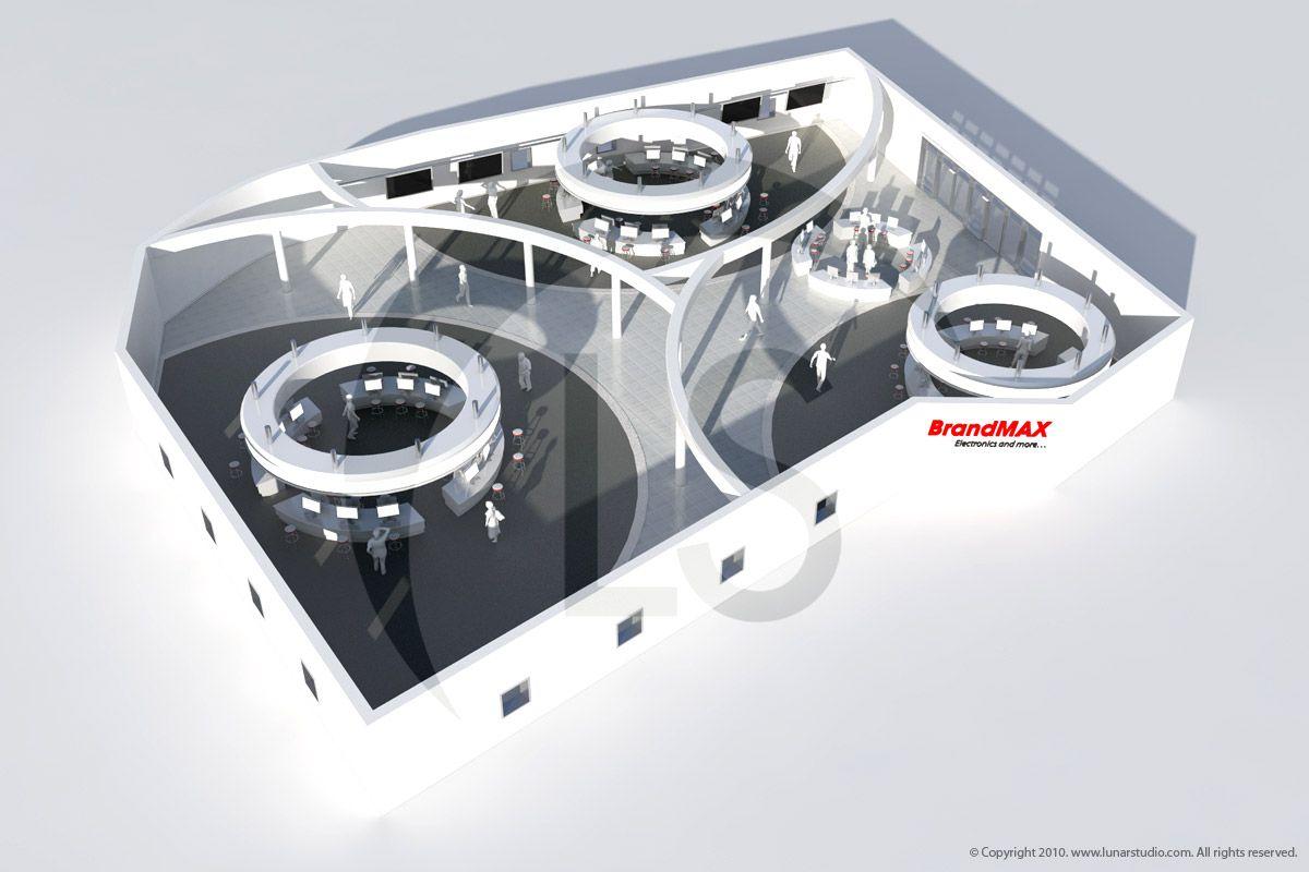 Brandmax Virtual Store Rendering. ::   Artist & Modeler: Cleo.    Concept & Client: Traher Design.