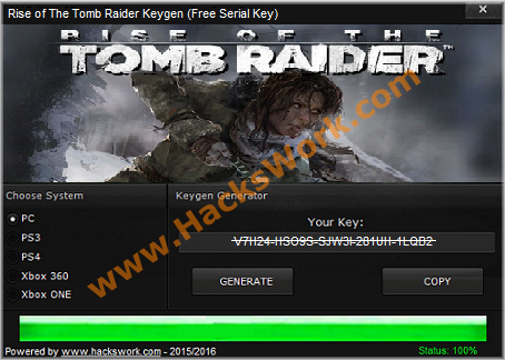 rise of the tomb raider license key generator