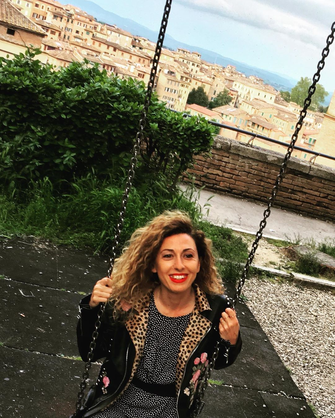 Life Is A Matter Of Balance Swing Siena Tuscany
